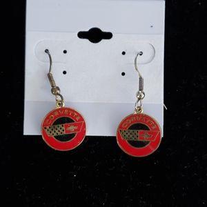 Corvette earrings